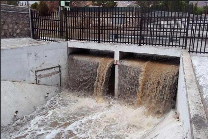 stormwater runoff in el paso