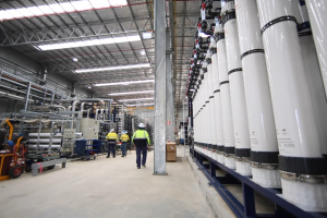 Picture of wastewater treatment plant in Perth